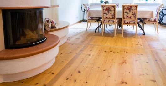 Holzboden in Naturoptik